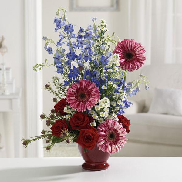 True Blue Bouquet - Xavier\'s Flower Shop