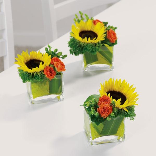 Three Times A Charm Xaviers Flower Shop